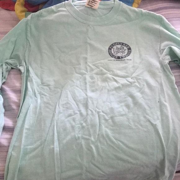 Comfort Colors Tops - Fudpuckers Long sleeve shirt